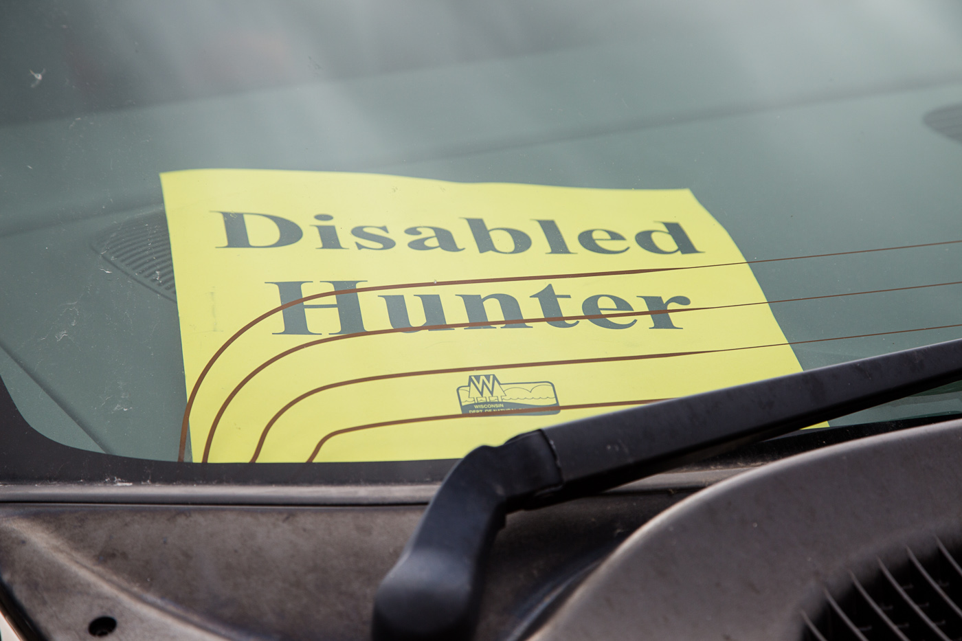 Disabled Deer Hunt sponsored by NASA (North American Squirrel Association)